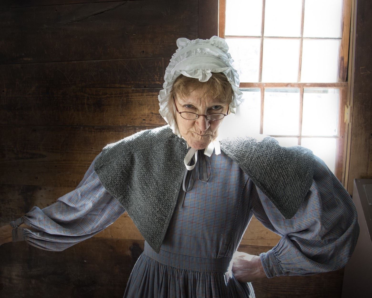 The Schoolkeeper at Old Sturbridge Village